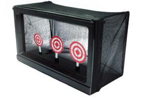 Automatisk skydemål med kuglefang-0