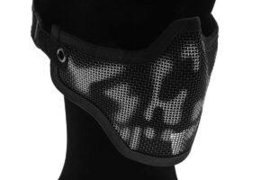 Metal Mesh Mask - Skull-0