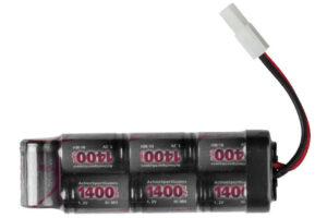 8.4v - 1400mAh mini batteri-0