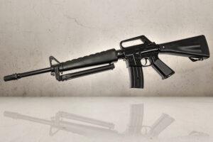 Stort M16 metal gevær med støtteben-0