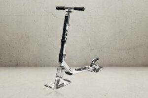Pro Snescooter - Hvid/sort-0
