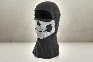 Balaclava Black Skull-0
