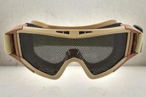 Pro Mesh Goggles - Tan-0