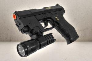 Agent P99 pistol inkl. lygte-0