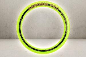 Pro Flying Ring 33cm - Neon Gul-0