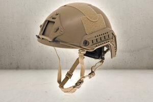 Strike Fast Helmet - Tan-0