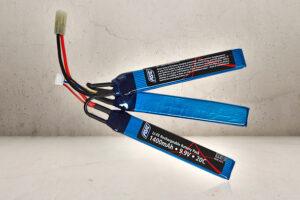 9.9v - 1400mAh LIFE batteri-0