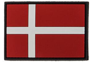 3D PVC Dannebrog Flag-0