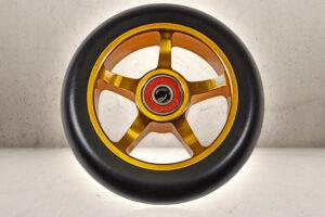 110mm Hjul - Black/Gold-0