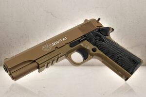 Colt 1911 Metalslæde Tan-0