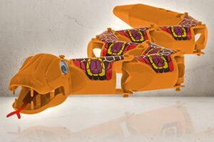 Orange Swaying Snake-0
