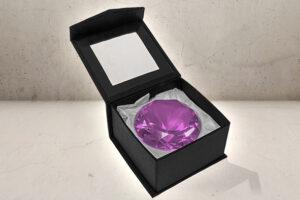kæmpe Juvel / diamant i Lilla-0