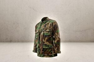 Junior Camouflage Jakke S-0