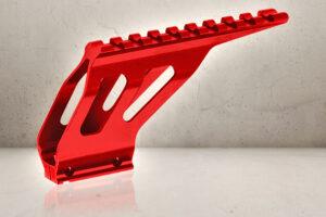 CNC Rail Mount - Red-0