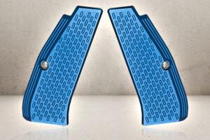 CNC Grip Shells - Blue-0