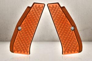 CNC Grip Shells - Orange-0