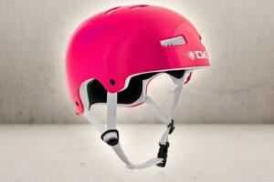 TSG Skater Hjelm - Blank Pink - S/M-0