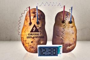 Digitalt kartoffel ur-0