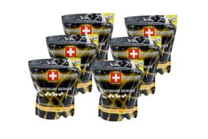 6 x Swiss Arms kugler 0.20g-0