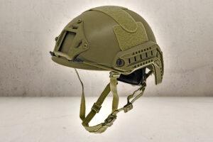 Strike Fast Helmet - Olive-0