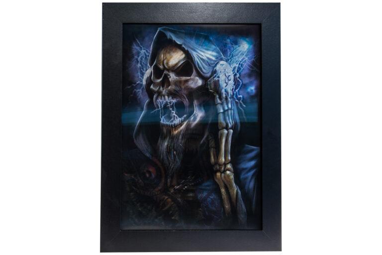 Skeletons 3D Hologram Billede-25381