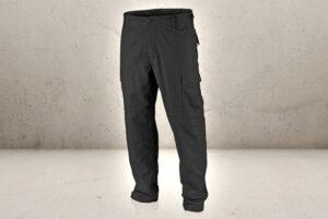 US BDU Field Pants Black - Large-0