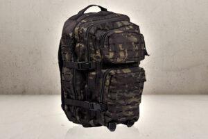 US Assault Back Pack Large Multicam Black-0