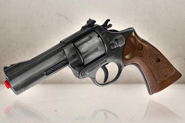 Magnum Police Revolver-0