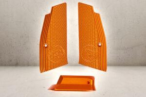 CNC Grip Shells & Magwell - Orange-0