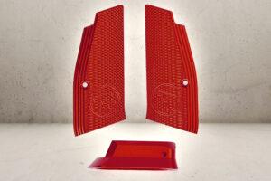CNC Grip Shells & Magwell - Red-0