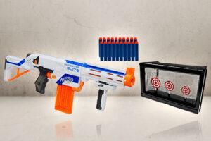 N-Strike Retaliator Blaster Bundle-0