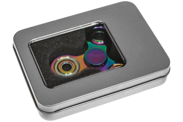 Rainbow metal Fidget Spinner -30246