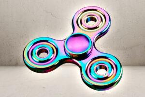Rainbow metal Fidget Spinner -0