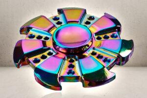 Rainbow Fidget Spinner Razor-0