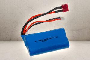 7.4v 1500mAh LiPO Batteri-0