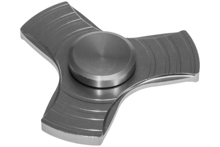 Aluminiums Fidget Spinner - Silver-30537