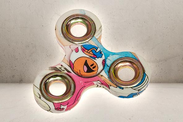 Classic Graffiti Fidget Spinner-0