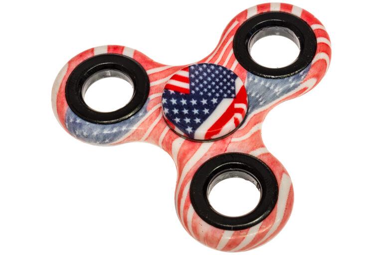 Classic American Flag Fidget Spinner-30383