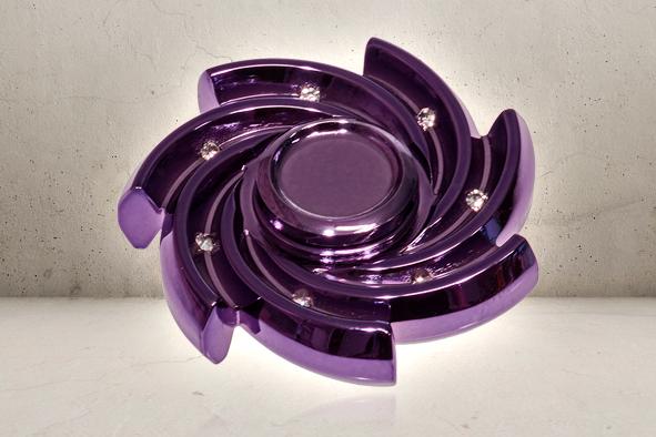 PRO Diamond Swirl Fidget Spinner -0
