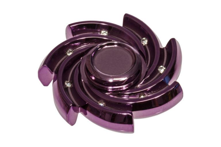 Diamond Swirl Fidget Spinner -30180