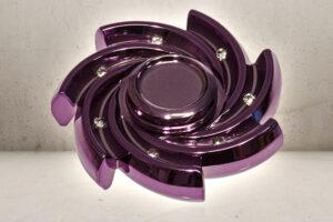 Diamond Swirl Fidget Spinner -0