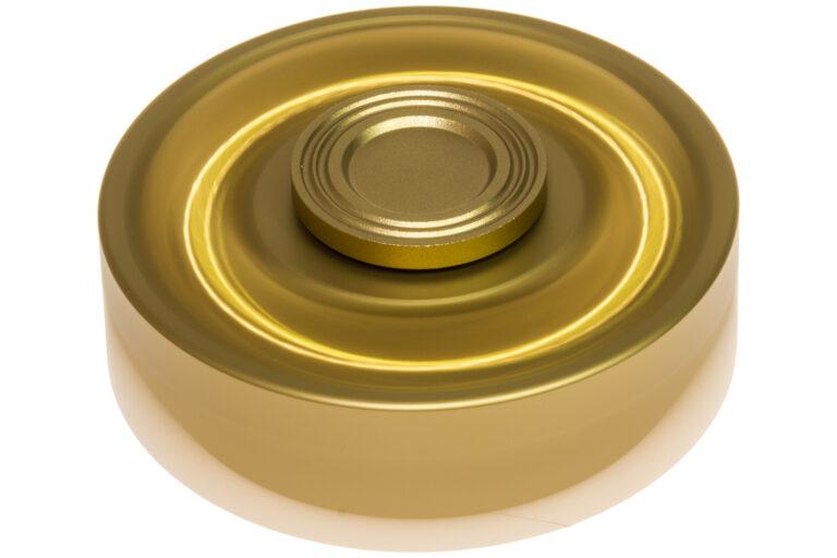 Revolver Drum Fidget Spinner - Gold Edition-30854