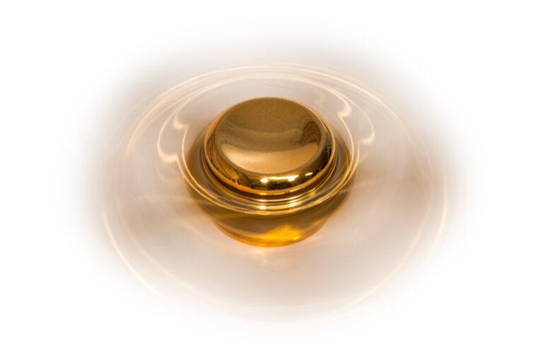Golden Five Fidget Spinner -30193