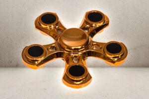 Golden Five Fidget Spinner -0