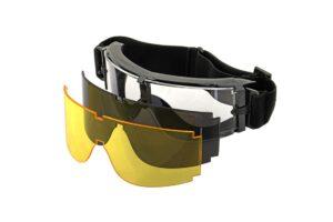 X800 Deluxe Goggles - Black-0