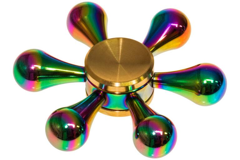Rainbow Drops Fidget Spinner -30864