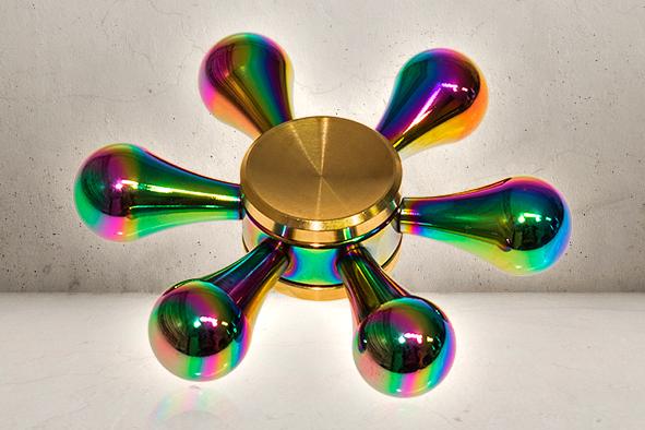 Rainbow Drops Fidget Spinner -0
