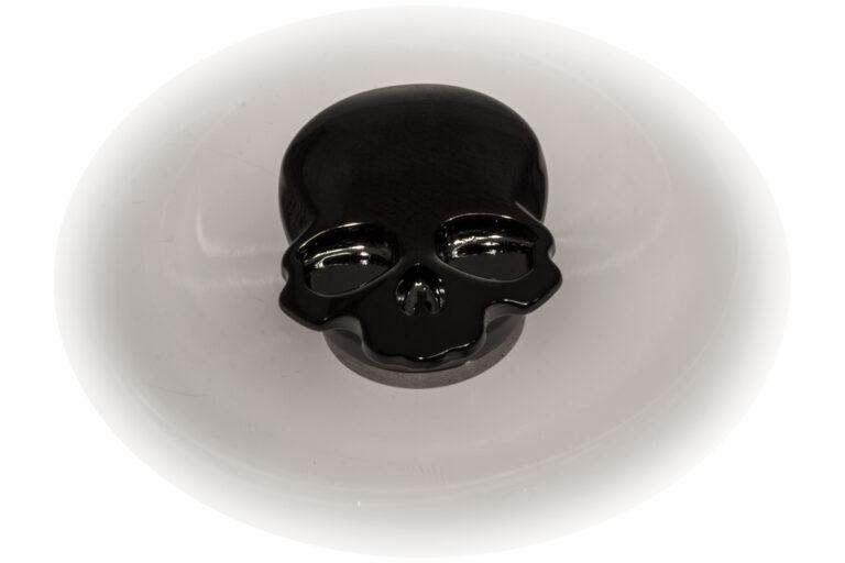 Skull Fidget Spinner - Gloss Black-30872