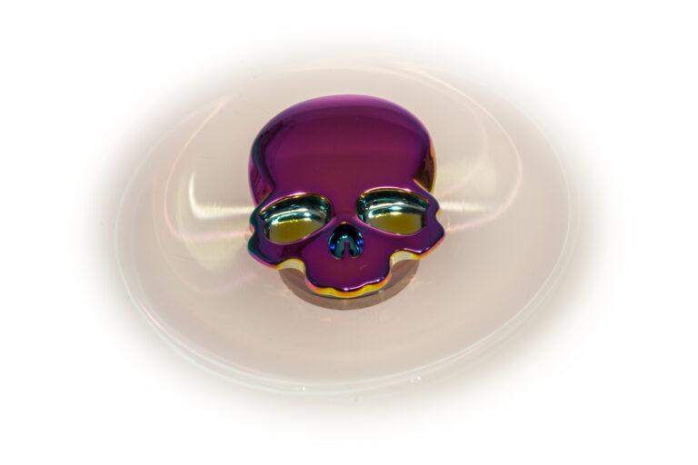 Skull Bones Fidget Spinner - Rainbow-30894