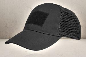 Tactical Mesh Cap - Black-0